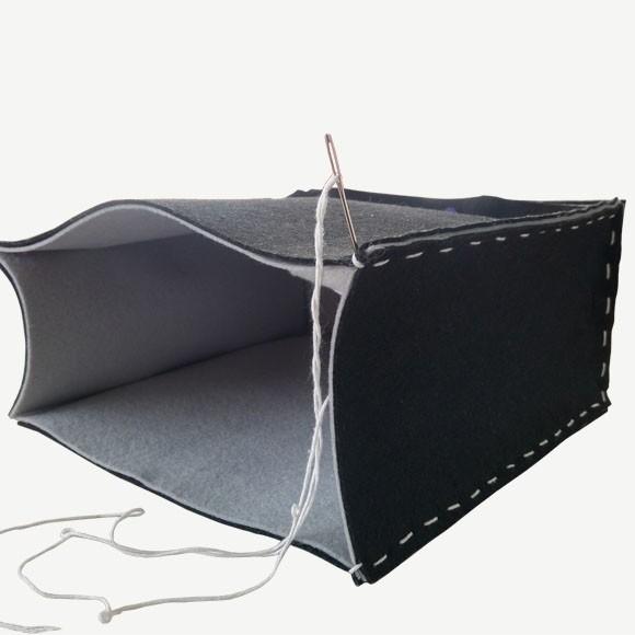 Iets Nieuws DIY project: Vilten tas - Vaessen Creative #PO97